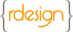RDesign logo color